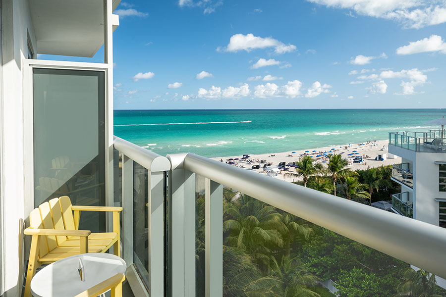 Ocean View Room Balcony