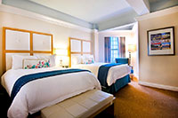 Luxury Junior Suite with Two Double Beds