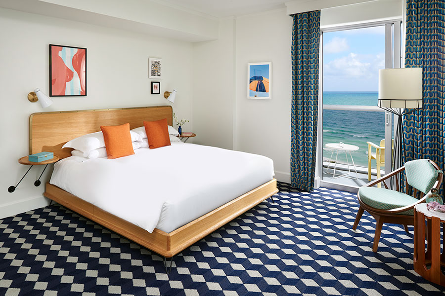 Miami Suite with King Bed & Balcony