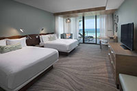 Gulf View Room with Two Queen Beds
