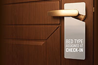 Bed Type Assigned at Check-In