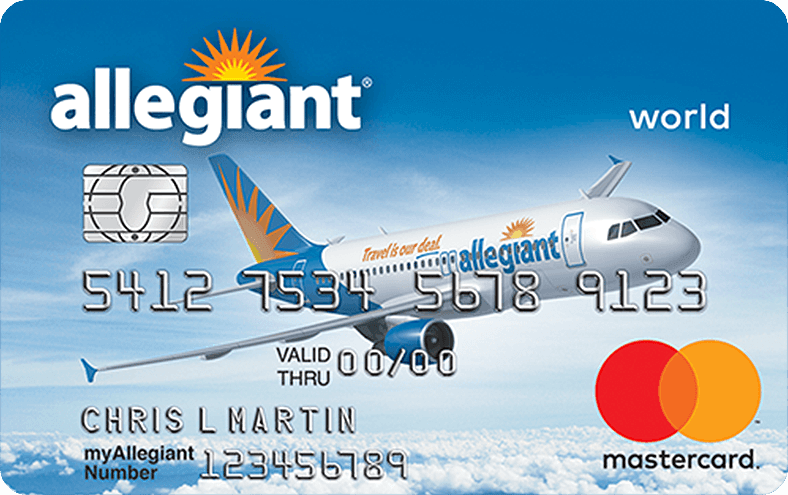 Get A Car With No Credit >> Allegiant World Mastercard Credit Card | Allegiant Air