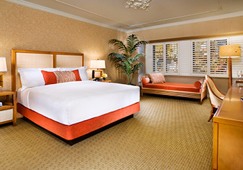 Paradise or Deluxe Room with King Bed