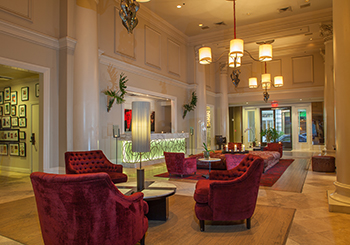 Lobby in Red
