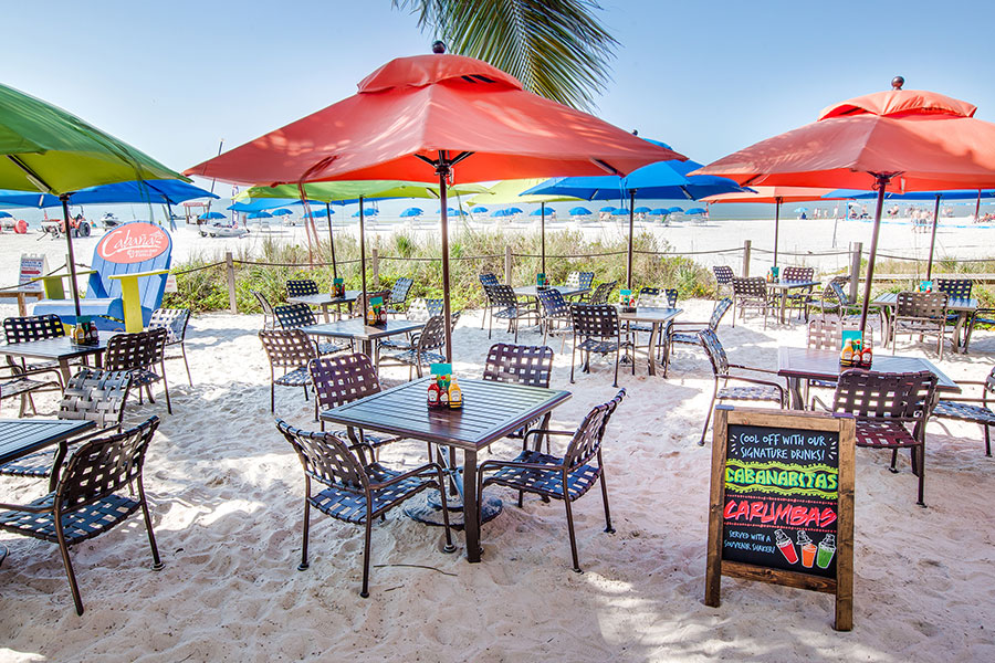 Cabanas Beach Dining