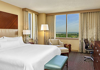 Golf View Room with King Bed