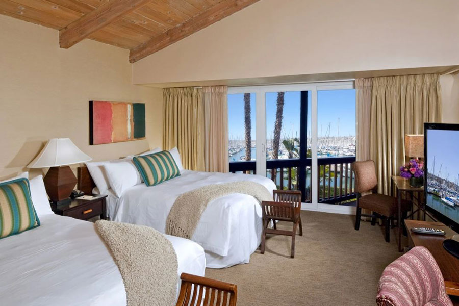 Marina View Suite with Two Queen Beds