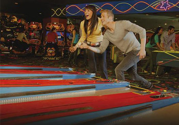 Fun Dungeon Ski Ball