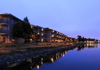 Exterior Waterfront at Dusk