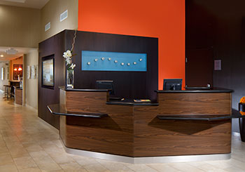 Lobby Welcome Desk