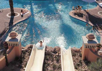 Pool Water Park Slides