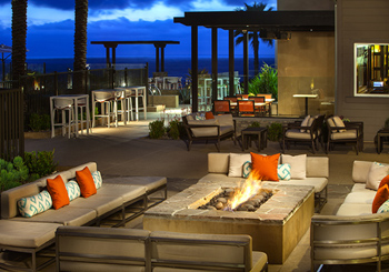 Exterior Patio with Fire Pit