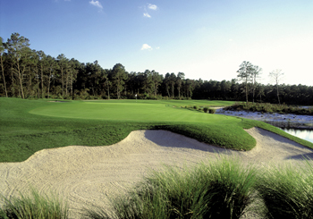 Golf The Legends Pines Hole 18