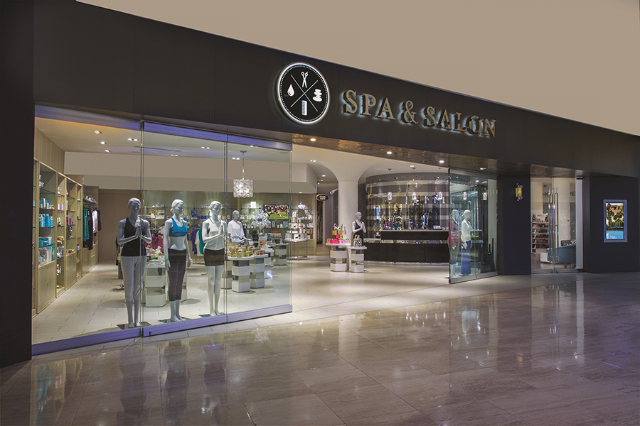 Spa & Salon Entrance