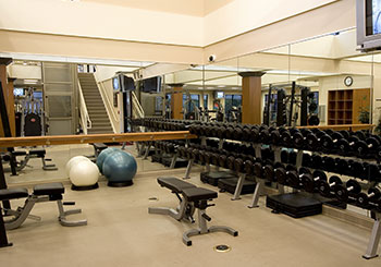 Fitness Center - Weights