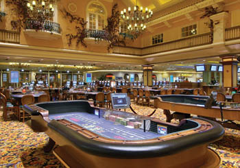 Casino Floor Tables