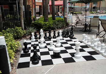 Poolside Checkers/Chess