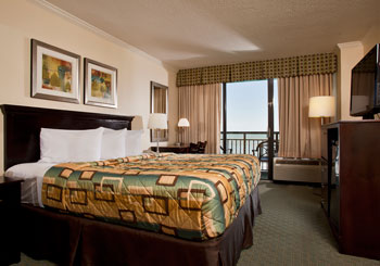 Partial Oceanview Room with King Bed