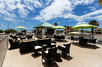 Cabana Bar Outdoor Seating