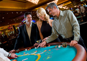 Casino Blackjack Table