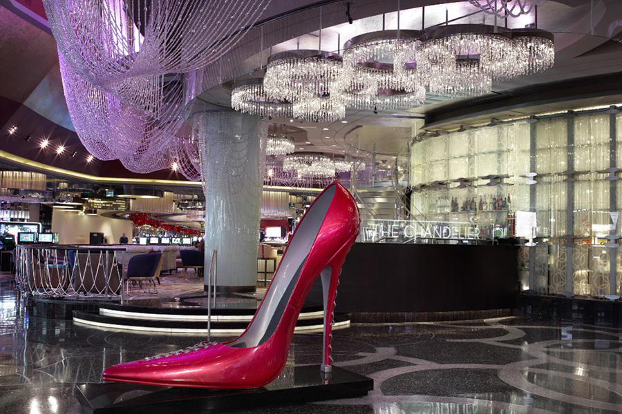 Lobby with Cosmopolitan Shoe