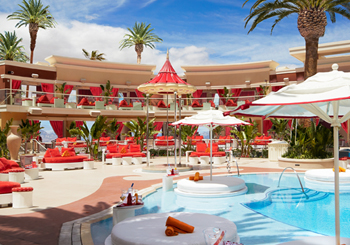 Beach Club Pool Cabanas