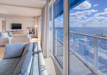 Two Bedroom Residential Suite View