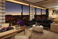 Panoramic View Suite Living Area