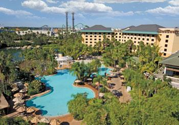 Loews Royal Pacific Resort at Universal Orlando hotel slideshow image 2